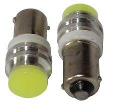 2x ampoule T4W T5W BA9s 12V LED HIGH POWER 1W blanc effet xénon plaque seuils