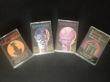 Lot of 4 New NOS Vintage Halloween Cassette Tapes