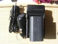 Battery&Charger for BN-VF808U JVC GZ-MG630SU GZMG365 Camcorder