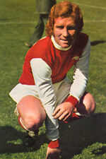 Football Photo ALAN BALL Arsenal 1973-74