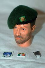 1/6 Irish Defence Force Army Ranger Wing KFOR patch, green beret & metal badge
