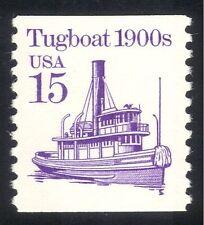 EE. UU. 1985 Transporte/remolcador/barcos/remolcador/barcos/Navegación/Náutica 1v (n43728)
