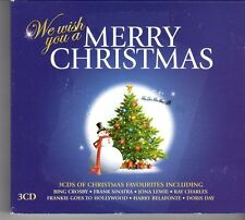 (FD455B) We Wish You A Merry Christmas, 60 tracks various artists - 3 CDs - 2013