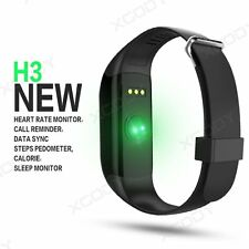 Waterproof Heart Rate Monitor Bluetooth Smart Bracelet Fitness Sports Wrist Band