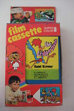 MUPI Warner Bros: ROAD RUNNER (Il labirinto) TOY FILMCASSETTE SUPER 8