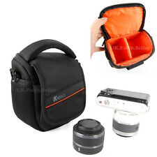 Shoulder Waist Camera Carry Case For Panasonic LUMIX DMC GH4 LZ40 LX100 FZ62 GM5