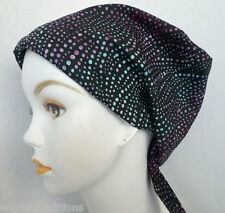 Classic Batik Cancer Chemo Hat Scarves Head Wrap Hairloss Cotton Hair Covering