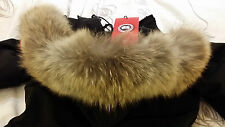 """BRAND NEW """"RED LABEL"""" EDITION LADIES BLACK CANADA GOOSE VICTORIA MD PARKA JACKET"""