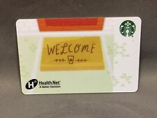 Rare Starbucks coffee 2015 Co-Branded Corporate Card Health Net Health Care