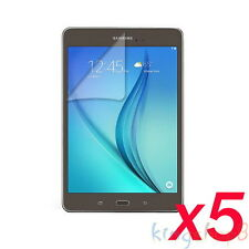 "5Pcs LCD Film Screen Protector For 8"" Samsung Galaxy Tab AS A8 T350 T351 Tablet"