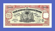 BRITISH WEST AFRICA - 20 Shillings 1934s -Reproductions