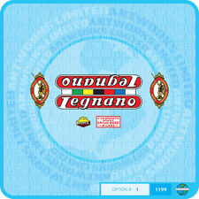 Legnano - Bicycle Decals Transfers - Stickers - Set 1