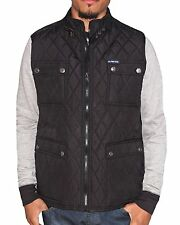 [7734] U.S. Polo Assn. Men's Quilted Vest with Patch Pockets, Black, Large $80