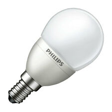PHILIPS LED givré mini golf ball Ampoule 4W SES Edison E14 Blanc chaud