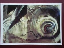 POSTCARD THE CHANNEL - LE SHUTTLE - 1975 SHAFTS CLOSED - 1987 RE-STARTED