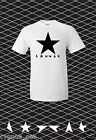 David Bowie Memorial Blackstar Black Star T-shirt Ziggy Stardust Guitarist S-3XL