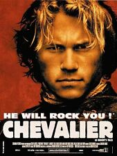 Affiche 120x160cm CHEVALIER (A KNIGHT'S TALE) 2001 Heath Ledger, Mark Addy BE