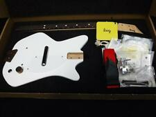 Loog DIY White 3 String Electric Guitar Kit Strap & Instructional Book Free APP