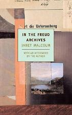 In the Freud Archives (New York Review Books Classics), Malcolm, Janet, Very Goo