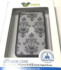 Disney Parks D-Tech Haunted Mansion Wallpaper Grey iPhone 4/s Case Holder