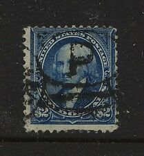US 262 used high value stamp  catalog  $1,250.00
