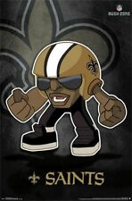 FOOTBALL POSTER New Orleans Saints NFL Rush Zone