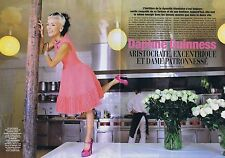 COUPURE DE PRESSE CLIPPING 2008 DAPHNE GUINNESS (6 pages)