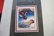 "LIONEL VINTAGE ""NOT JUST A TOY, A TRADITION"" METAL SIGNWORK"