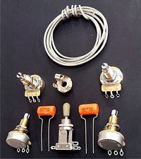 Upgraded Wiring Kit for Les Paul - Switchcraft - CTS- Sprague 200v .022uf