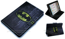 For iPad Air 1-2 Marvel Arkham Kinight Batman Stand Case Cover Wake Sleep Sensor