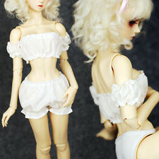 Hot Sale 1/3 SD10 LUTS BJD Doll Clothes Sweet Cute Strapless Vest+Pumpkin Shorts