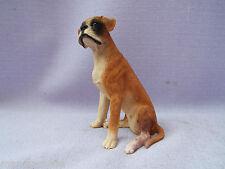 Vintage Castagna Boxer Dog Figurine