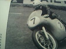ephemera 1960 picture john hartle norton ulster grand prix