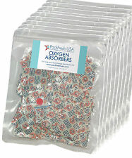 1000 x 100cc OXYGEN ABSORBER PACKETS long term food storage in Mylar bags cans