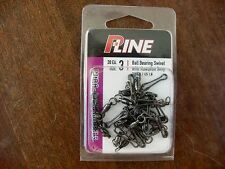 New P-Line BALL BEARING SWIVEL with HAWAIIAN SNAP 45lb Size 3 BBMCM 3+3 20/Pk