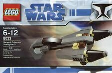Lego Star Wars General Grievous Starfighter 8033 Polybag BNIP