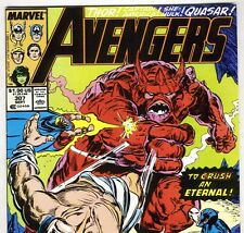 The AVENGERS #307 with Captain America & Thor from Sept 1989 in VF- con. NS
