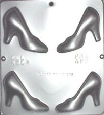 High Heel Shoe Assembly Chocolate Candy Mold  1304 NEW