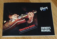 Gibson Les Paul Owners Manual Brochure Guitar Parts Flyer SG ES Firebird HP T R9
