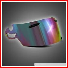 NEW IRIDIUM RAINBOW VISOR TO FIT ARAI I TYPE, RX-7RC, Corsair-V, Chaser V, ETC