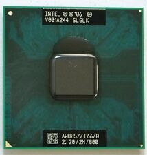 SLGLK Intel Core 2 Duo Mobile T6670 2.2GHz/2/800MHz Socket P Processor