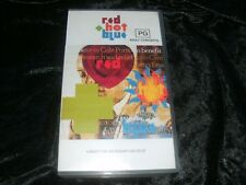 RED HOT + BLUE CONCERT VHS VIDEO PAL~ A RARE FIND MINT SEALED