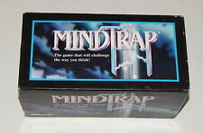 MindTrap Card Game Mind Trap 1991 Vintage 90s Brain Teaser Thinking Word Puzzle