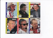 1995 Traks BEHIND THE SCENES Complete 25 card set BV$4!