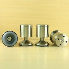 "4 pcs metal stainless steel legs furniture kitchen cabinet feet leg stand 3"""