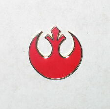 Classic Star Wars Rebel Alliance Red Squadron Logo Cloisonne Metal Pin, Medium
