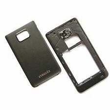 100% Genuine Samsung Galaxy S2 rear housing+camera glass+back battery cover SII