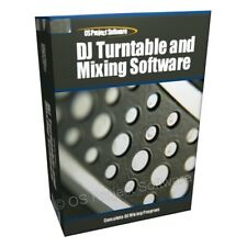 DJ Turntables MP3 Mixing Mixer Player Decks Software CD