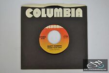 "Marty Robbins - She's Made Of Faith, Misery In My Soul 45/7"" Vinyl Album 1980 C"