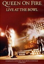Queen: On Fire - Live at the Bowl [2 Discs] (2013, DVD NIEUW)2 DISC SET